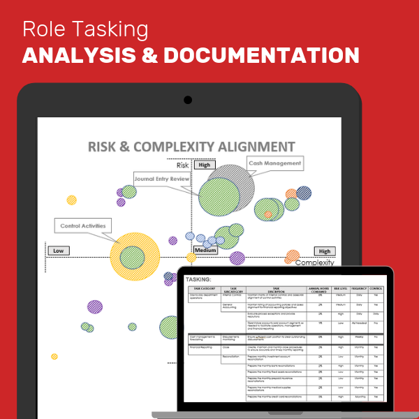 Task by task role documentation for employee retention