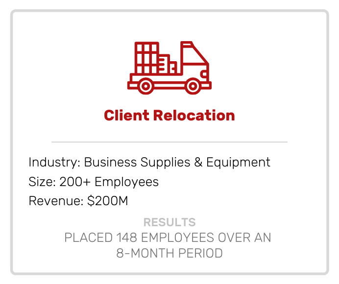 Client Relocation Case Study