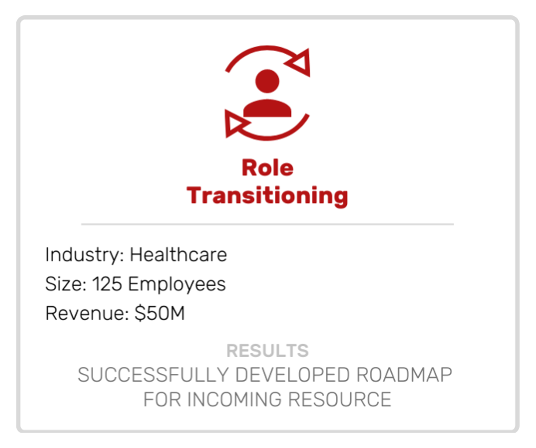 Role Transitioning Case Study