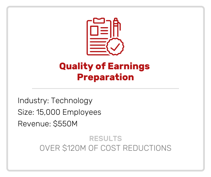 Quality of Earnings Preparation