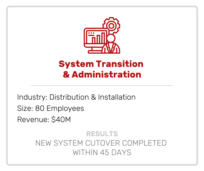 System Transition & Administration Case Study